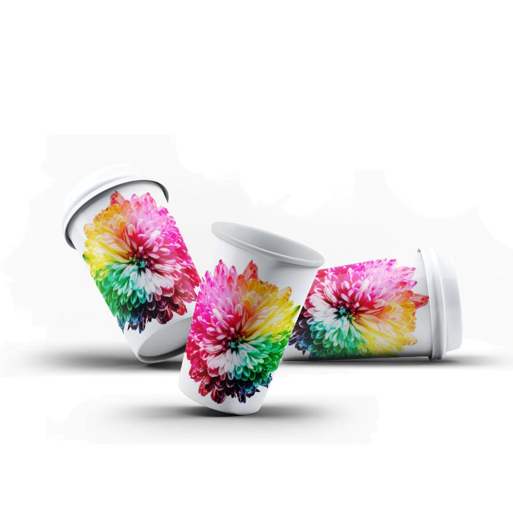 Enkelwandige Bekers Full Color